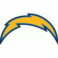 San Diego Chargers Primary Logo  Light Iron-on Stickers (Heat Transfers)