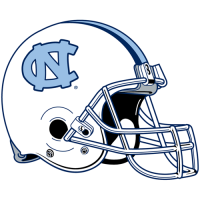 1999-Pres North Carolina Tar Heels Helmet Logo Light Iron-on Stickers (Heat Transfers)