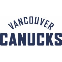 Vancouver Canucks Script Logo  Light Iron-on Stickers (Heat Transfers) version 1