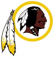 Washington Redskins Primary Logo  Light Iron-on Stickers (Heat Transfers)