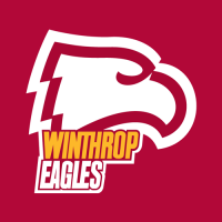 1995-Pres Winthrop Eagles Alternate Logo Light Iron-on Stickers (Heat Transfers)