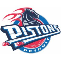 Detroit Pistons Primary Logo  Light Iron-on Stickers (Heat Transfers)