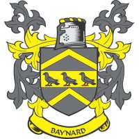 Baynard Coat of Arms light-colored apparel iron on stickers