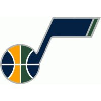 Utah Jazz Alternate Logo  Light Iron-on Stickers (Heat Transfers) version 2