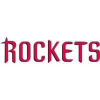 Houston Rockets Script Logo  Light Iron-on Stickers (Heat Transfers) version 2
