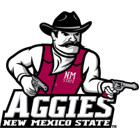 2007-Pres New Mexico State Aggies Primary Logo Light Iron-on Stickers (Heat Transfers)