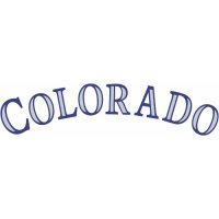 Colorado Rockies Script Logo  Light Iron-on Stickers (Heat Transfers)
