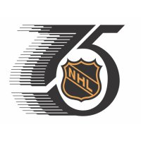 National Hockey League Anniversary Logo  Light Iron-on Stickers (Heat Transfers)
