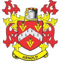 Arnold Coat of Arms Light Iron On Stickers (Heat Transfers)
