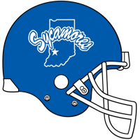 Indiana State Sycamores 1991-Pres Helmet Logo Light Iron-on Stickers (Heat Transfers)