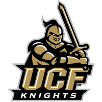 Central Florida Knights 2007-Pres Primary Logo Light Iron-on Stickers (Heat Transfers)