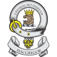 Macgregor Clan Badge Light Iron On Stickers (Heat Transfers)