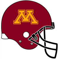 2008-Pres Minnesota Golden Gophers Helmet Logo Light Iron-on Stickers (Heat Transfers)