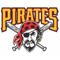 Pittsburgh Pirates Primary Logo  Light Iron-on Stickers (Heat Transfers)