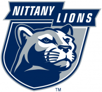 Penn State Nittany Lions 2001-2004 Alternate Logo Light Iron-on Stickers (Heat Transfers)