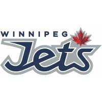 Winnipeg Jets Script Logo  Light Iron-on Stickers (Heat Transfers)