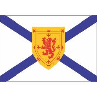Nova Scotia Flag Light Iron On Stickers (Heat Transfers)