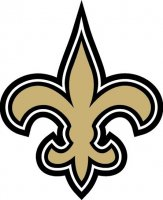 New Orleans Saints Primary Logo  Light Iron-on Stickers (Heat Transfers)
