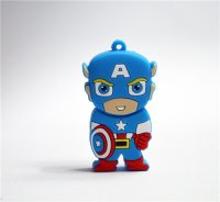 Captain America light-colored apparel iron on stickers 13