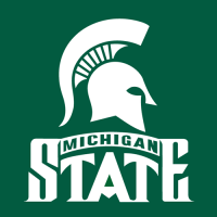 1987-Pres Michigan State Spartans Alternate Logo Light Iron-on Stickers (Heat Transfers)