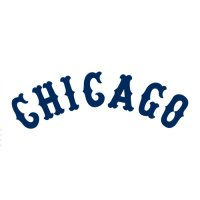 Chicago White Sox Script Logo  Light Iron-on Stickers (Heat Transfers) version 2