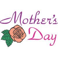 Happy Mother's Day Light Iron On Stickers (Heat Transfers) version 4
