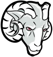 Fordham Rams 2009-Pres Partial Logo Light Iron-on Stickers (Heat Transfers)