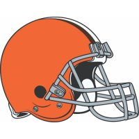 Cleveland Browns Primary Logo  Light Iron-on Stickers (Heat Transfers)