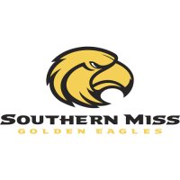2003-Pres Southern Miss Golden Eagles Primary Logo Light Iron-on Stickers (Heat Transfers)