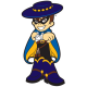 UCSB Gauchos Pres Mascot Logo Light Iron-on Stickers (Heat Transfers)