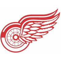 Detroit Red Wings Alternate Logo  Light Iron-on Stickers (Heat Transfers)