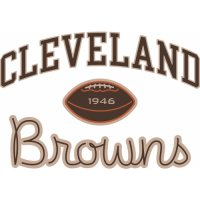 Cleveland Browns Script Logo Light Iron-on Stickers (Heat Transfers) version 4