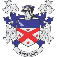Anderson Coat of Arms Light Iron On Stickers (Heat Transfers)