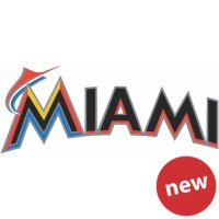 Miami Marlins Cap Logo  Light Iron-on Stickers (Heat Transfers) version 2