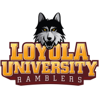 2012-Pres Loyola Ramblers Primary Logo Light Iron-on Stickers (Heat Transfers)