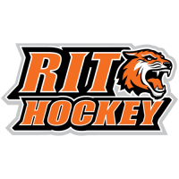 RIT Tigers 2004-Pres Alternate Logo3 Light Iron-on Stickers (Heat Transfers)