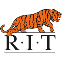 RIT Tigers 1976-2003 Primary Logo Light Iron-on Stickers (Heat Transfers)