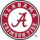 2004-Pres Alabama Crimson Tide Primary Logo T shirt Light Iron-on Stickers (Heat Transfers)