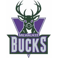 Milwaukee Bucks Primary Logo  Light Iron-on Stickers (Heat Transfers)