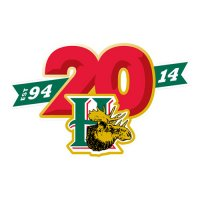 Halifax Mooseheads 2013 14 Anniversary Logo Light Iron-on Stickers (Heat Transfers)
