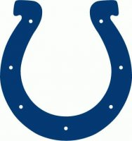 Indianapolis Colts Primary Logo  Light Iron-on Stickers (Heat Transfers)