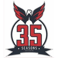 Washington Capitals Anniversary Logo  Light Iron-on Stickers (Heat Transfers)