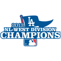 Los Angeles Dodgers 2013 Champion Logo Light Iron-on Stickers (Heat Transfers)