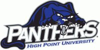 High Point Panthers 2004-Pres Primary Logo Light Iron-on Stickers (Heat Transfers)