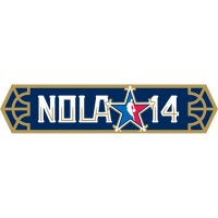NBA All-Star Game 2013 14 Wordmark Logo Light Iron-on Stickers (Heat Transfers)