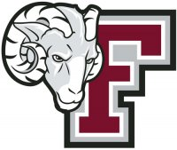 Fordham Rams 2009-Pres Secondary Logo Light Iron-on Stickers (Heat Transfers)