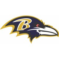 Baltimore Ravens Primary Logo  Light Iron-on Stickers (Heat Transfers)