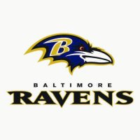 Baltimore Ravens Alternate Logo  Light Iron-on Stickers (Heat Transfers) version 8