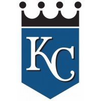 Kansas City Royals Alternate Logo  Light Iron-on Stickers (Heat Transfers) version 1