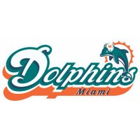 Miami Dolphins Alternate Logo  Light Iron-on Stickers (Heat Transfers) version 1